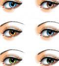 ochii culoarea influenteaza